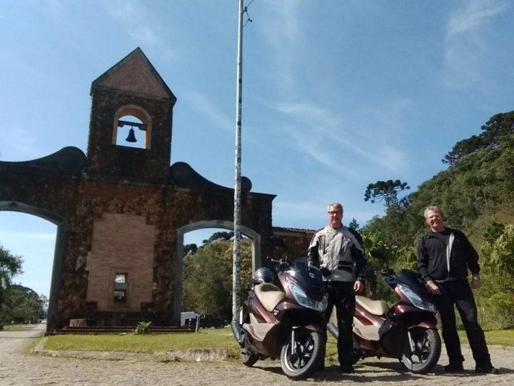 Amigos percorrerão rota do Atlântico ao Pacífico com Honda PCX na Expedição InterOceânica