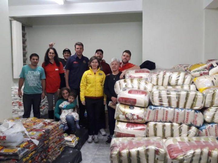 MS Trade Show, o novo formato do Motor Show Curitiba, arrecada 9 toneladas de alimentos em Gincana Interclubes