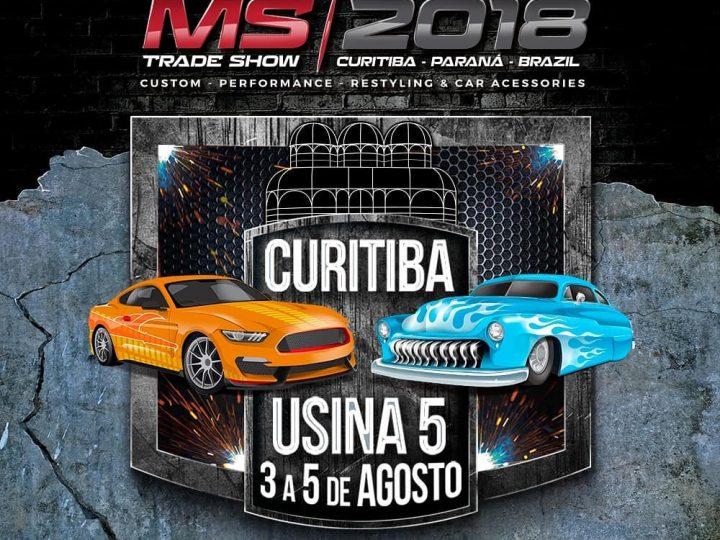 Participe do MS Trade Show, edição 2018 do Motor Show Curitiba, feira de negócios exclusiva para os segmentos custom, performance e acessórios, que acontece de 03 a 05 de agosto em Curitiba