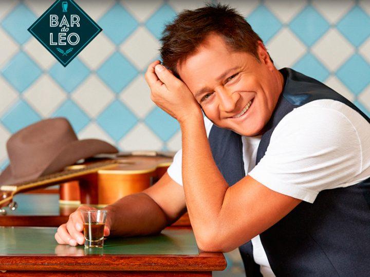 Leonardo chega a Curitiba com o seu Bar do Leo no dia 19 de agosto