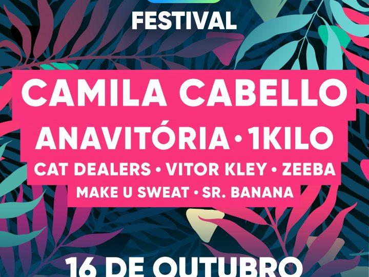 Z Festival traz Camila Cabello, Anavitória,1Kilo, Cat Dealers, Vitor Kley, Zeeba,Make U Sweat e Sr. Banana para Curitiba