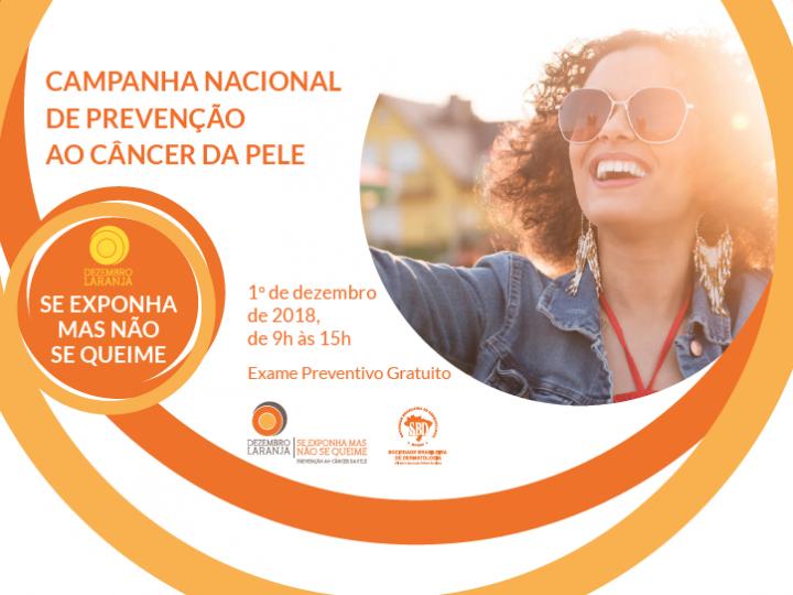 Campanha Nacional de Prevenção ao Câncer da Pele terá ação especial no dia 1 de dezembro em diversas cidades do Paraná