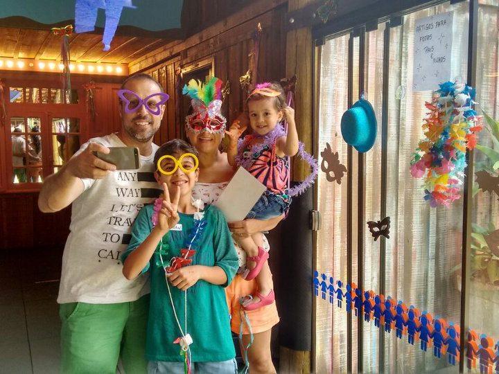 Bailinho e oficinas criativas agitam o Carnaval das crianças no Restaurante Espaço Depósito