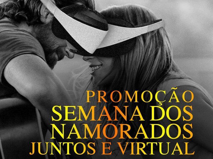 """""""Juntos e Virtual"""" é o mote da campanha criada para o Dia dos Namorados do VR TOP"""