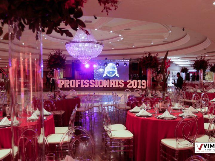 Baile de Gala do Prêmio Profissionais 2019 foi cheio de glamour e sucesso