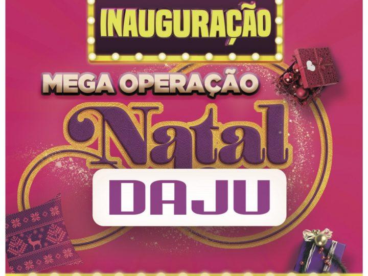 DAJU prepara Mega Evento de Inauguração de Natal nos dias 13, 14 e 15 de dezembro