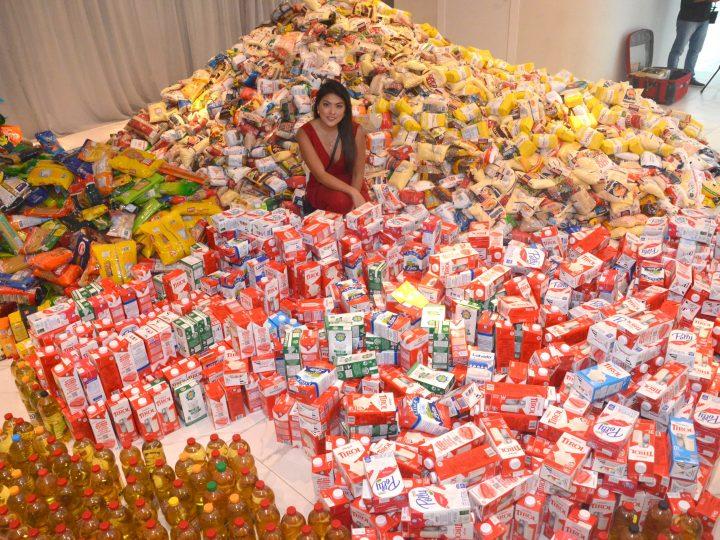 17ª edição do Bazar Moda do Bem arrecadou 8.3 toneladas de alimentos